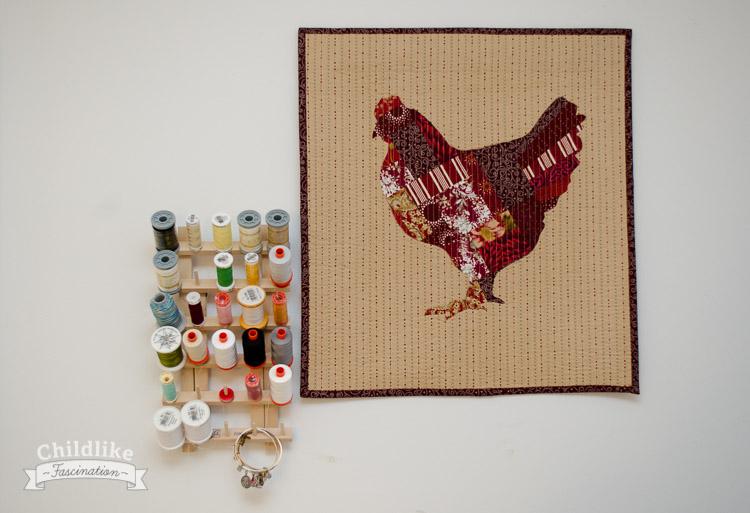 Chicken Marsala Mini Quilt
