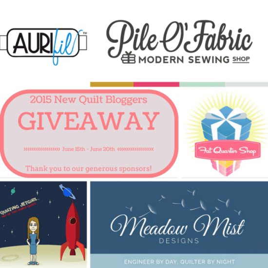 New Quilt Bloggers Giveaway