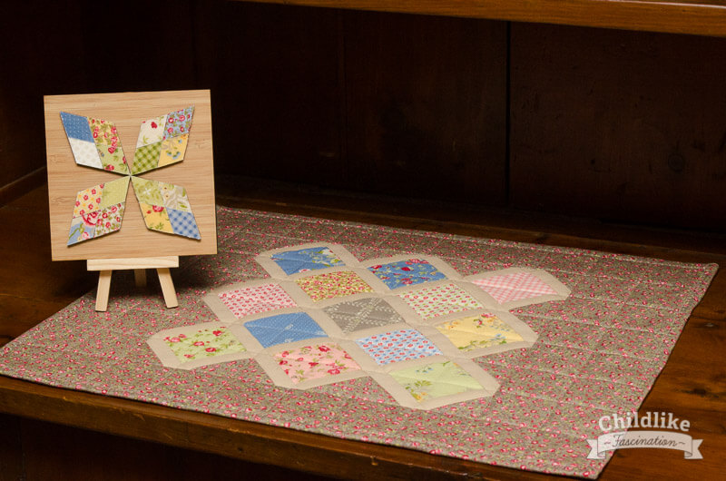 Placemat with Mini Barn Quilt