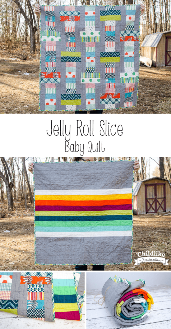 Jelly Roll Slice a free pattern from the Fat Quarter Shop