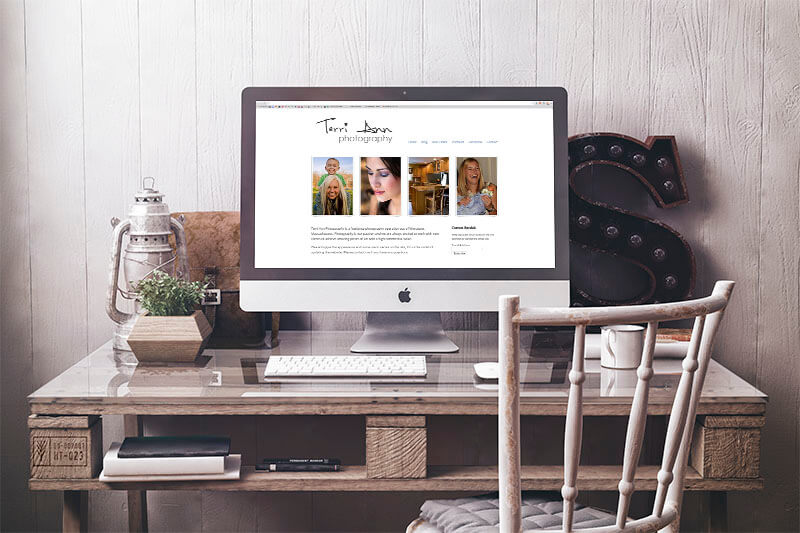 Terri Ann Photography Website