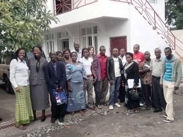 Équipe de Children's Voice à Goma