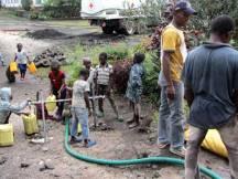 Camion d'eau potable du CICR