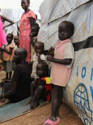 In Juba, about 30,000 people have taken refuge inside the UN compounds. ©OSRSG-CAAC