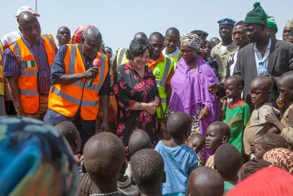 特别代表:尼日利亚东北部儿童遭受的苦难超乎想象