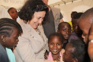 Leila Zerrougui urges protection of children as key to peace-making and conflict prevention