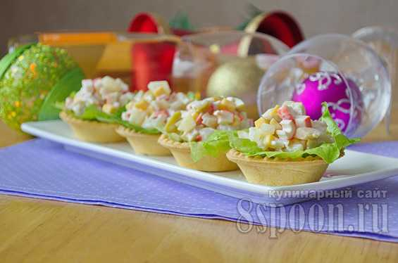 Начинка для тарталеток на праздничный стол рецепты с фото ...