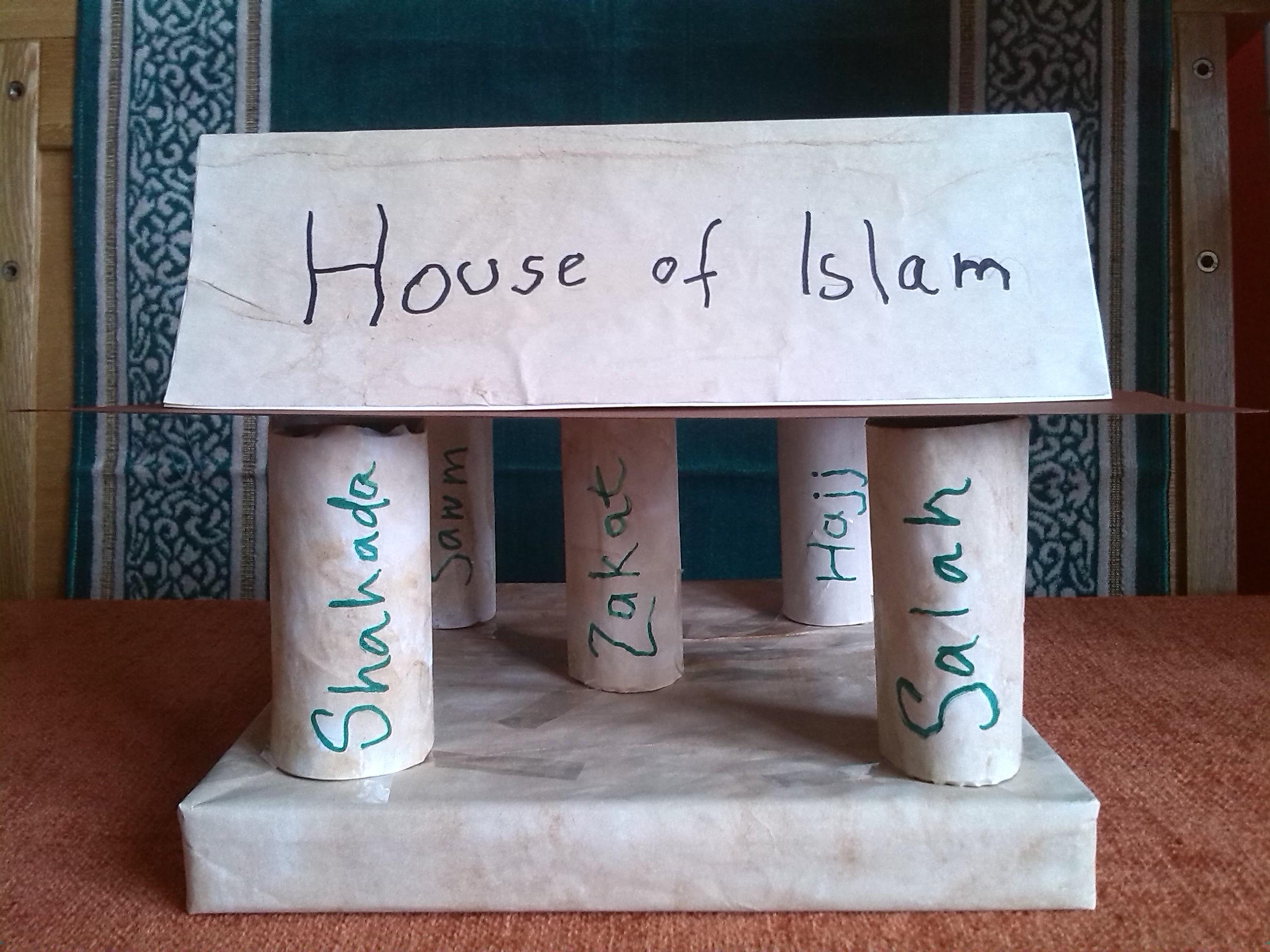 5 Pillars Of Islam Poster Project
