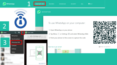 How to link WhatsApp Mobile to WhatsApp PC