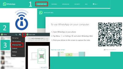 How to link WhatsApp Mobile to WhatsApp PC