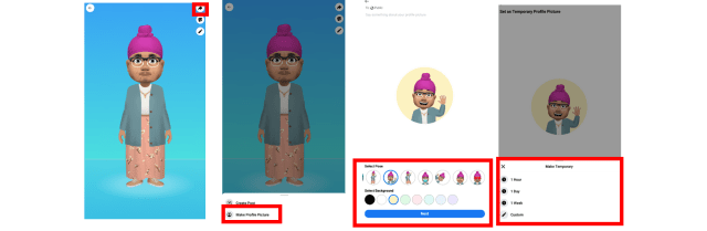 How to set up Facebook Avatar 4