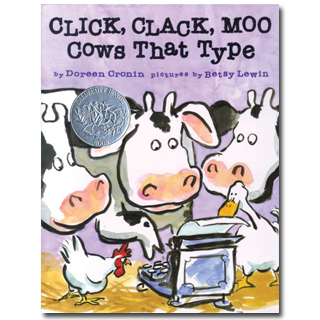Click Clack Moo Cows That Type Book A Day Almanac