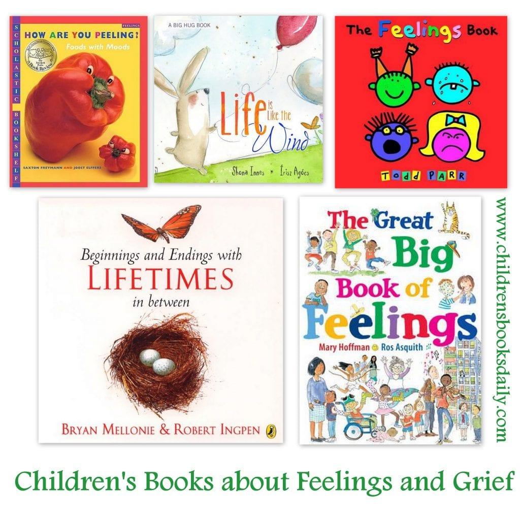 Children S Books About Feelings And Grief