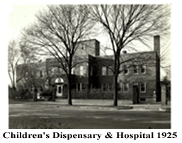 Children's Dispensary & Hospital in 1925