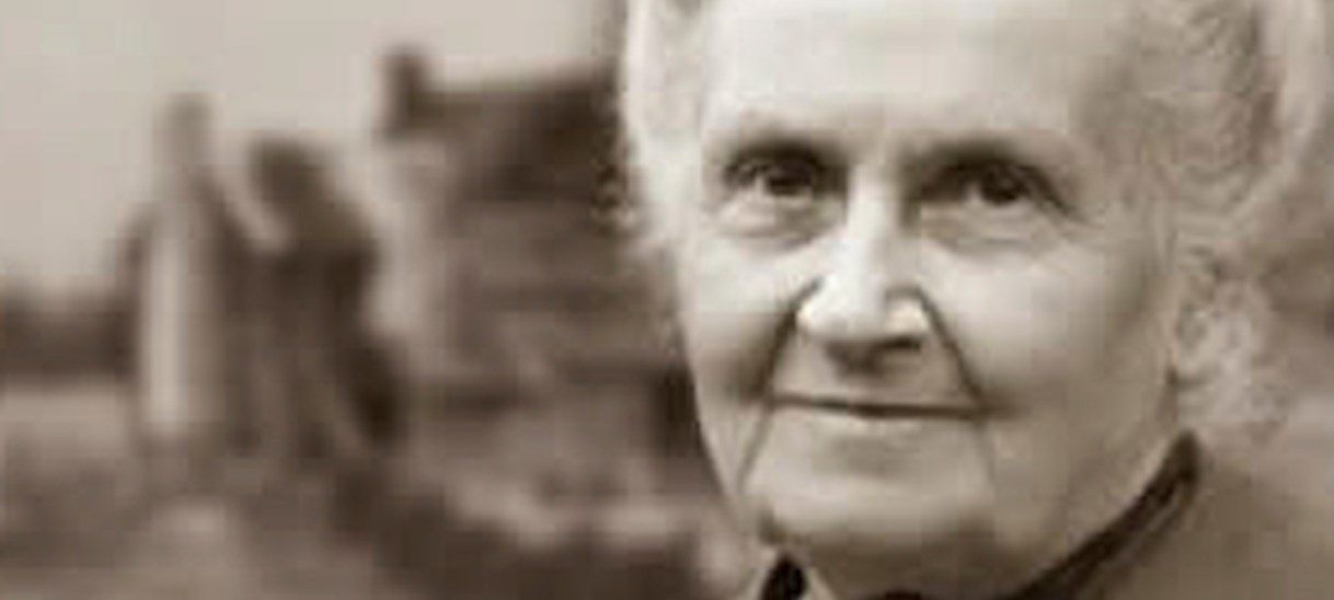 Who was Maria Montessori?