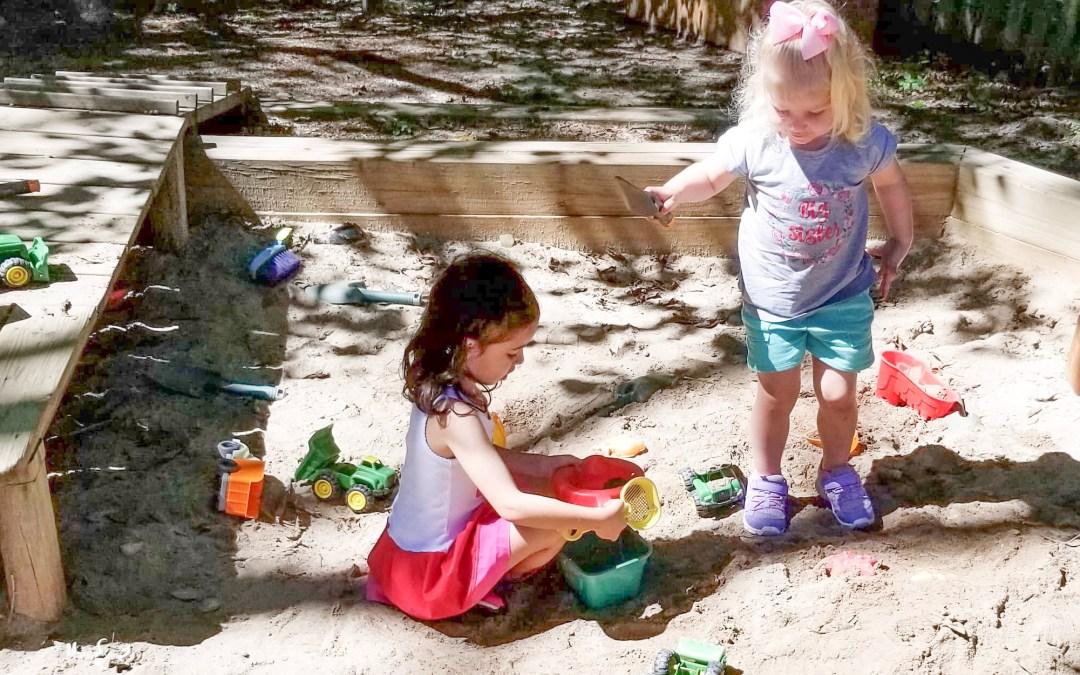 Children in the sandbox