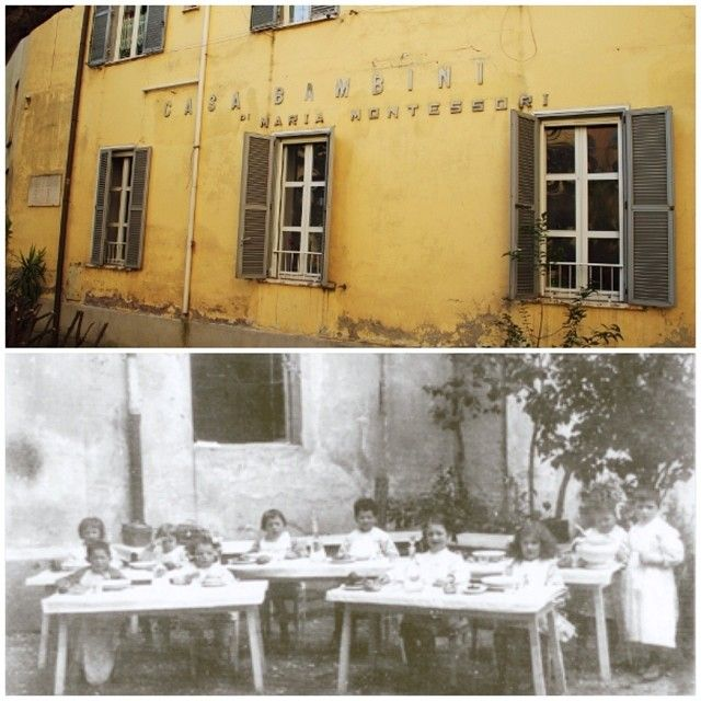the first Montessori school and Montessori mixed-age classroom