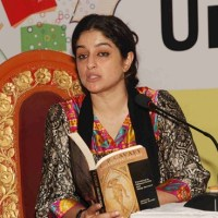 Nadia Jamil reading in festival