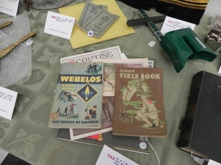 Check out these cool scout handbooks!