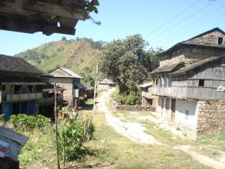 Typical multiple eave house in hilly region (Takukot, Gorkha)