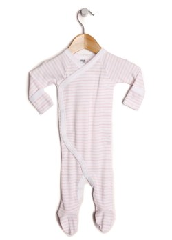 NATURAL KIDS BAMBOO AND ORGANIC COTTON NEWBORN JUMPSUIT