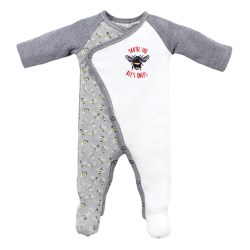 Bebe Riley Bee Romper Layette Jumpsuit