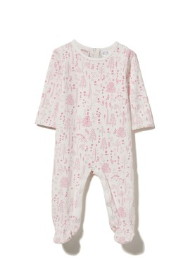 milky forest romper