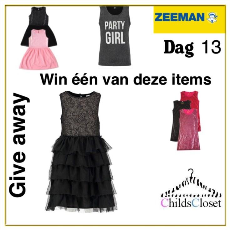 66092b9c607dbf Give away dag 13: De Zeeman feestcollectie - ChildsCloset