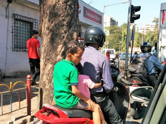 Dangerous Pillion riding