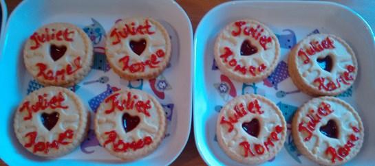 Juliet Jammy Dodgers