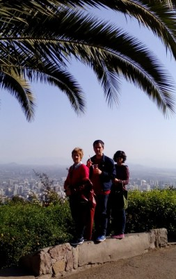 En el cerro San Cristóbal
