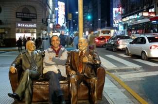 En la calle Corrientes