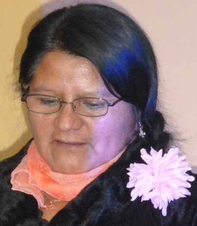 María Teresa Valdebenito Curilén, poetisa