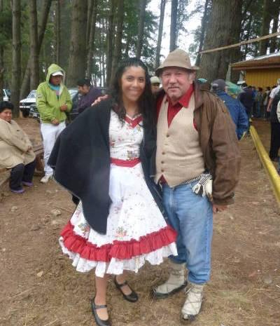 Lautaro con llovida trilla a yegua celebra 132º Aniversario