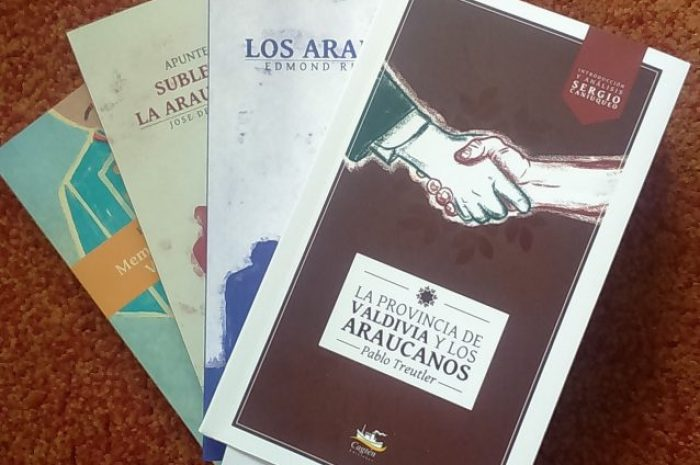 Pablo Treutler: LA PROVINCIA DE VALDIVIA Y LOS ARAUCANOS