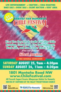 2017 Chile Festival to Benefit Habitat for Humanity