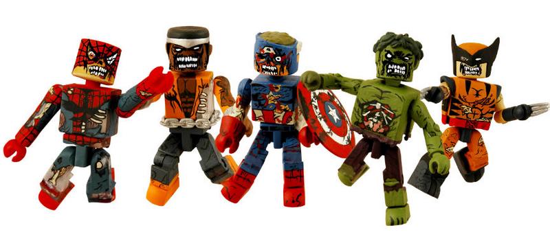 Marvel Minimates Marvel Zombies Hulk