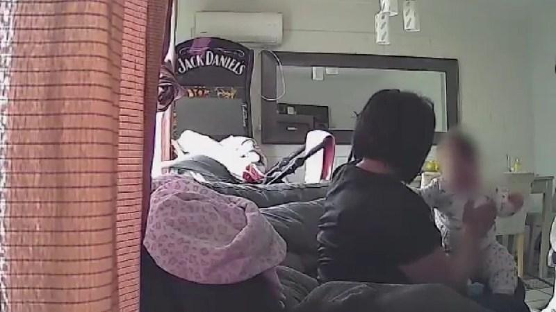 A través de la video, madre denuncia VIOLENTA AGRESIÓN a su pequeña bebé de 7 meses