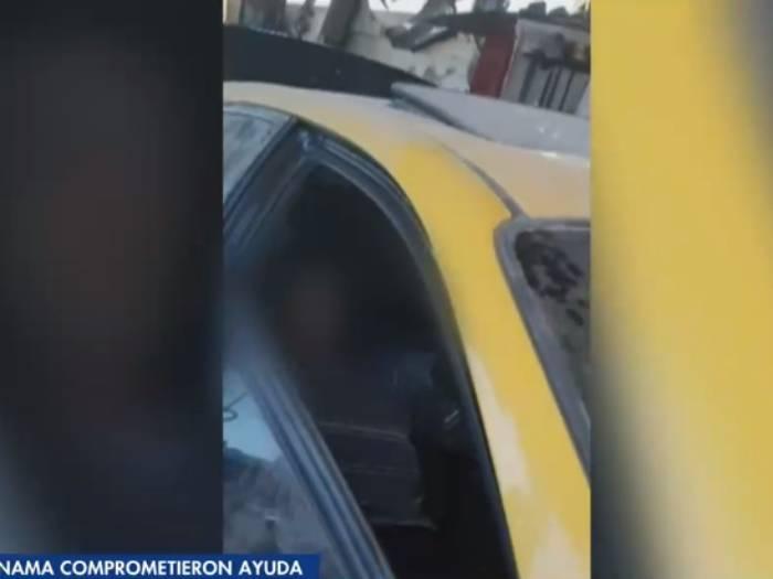 Dramático abandono: hallan a matrimonio de abuelitos viviendo en taxi