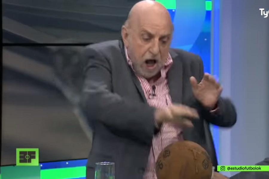 """""""¡Estoy hecho m…!"""": Horacio Pagani sufrió estrepitosa caída en programa en vivo"""