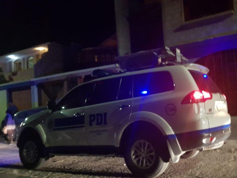 Investigan muerte de mujer a golpes y puñaladas en Arica