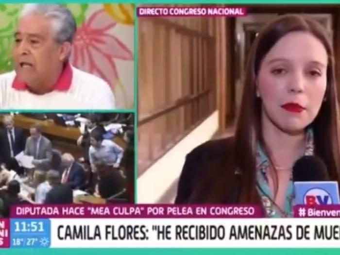 """""""Mijita, se lo digo con respeto"""": abuelitos encaran a Camila Flores en TV"""