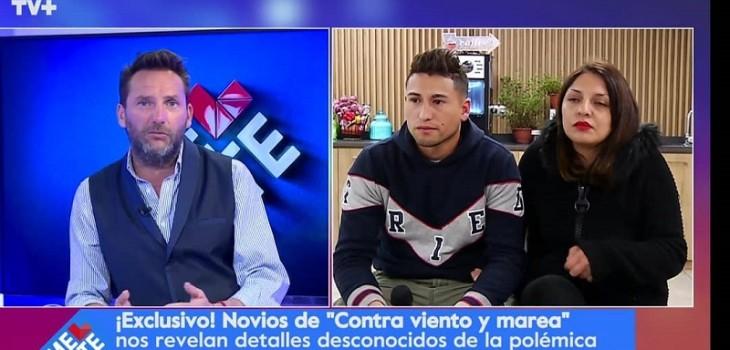 Polémica pareja de Contra Viento y Marea no descarta iniciar acciones legales: «Es bastante el daño»