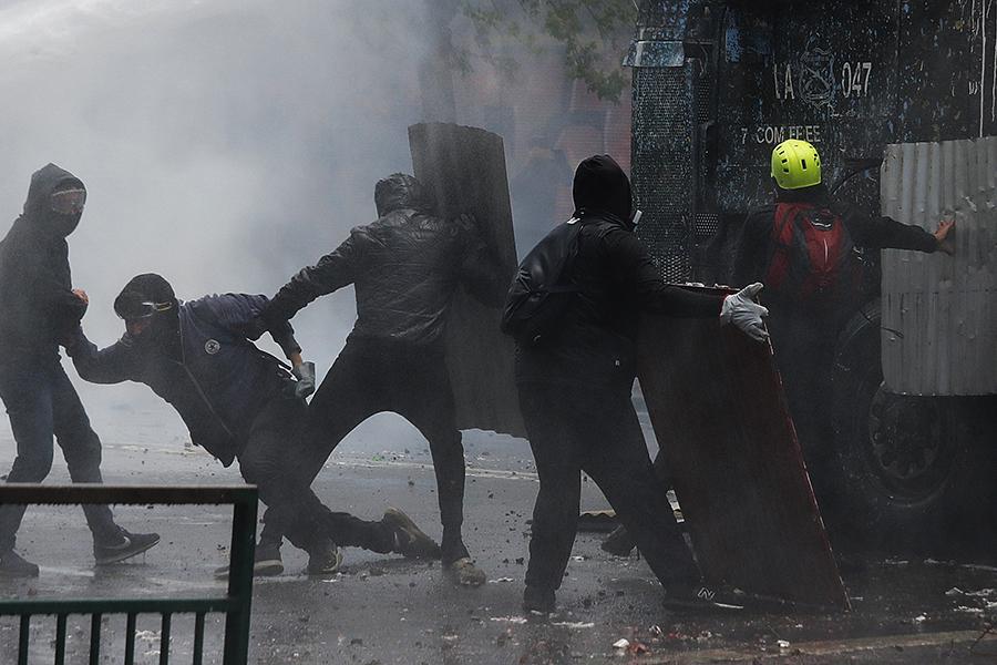 Revelan que empresario sería el asesino de manifestante en Curicó