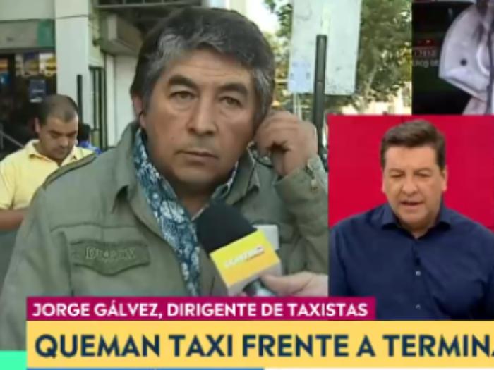 """""""No se haga el gil…"""": el tenso round en vivo de Julio César Rodríguez con dirigente de taxistas"""