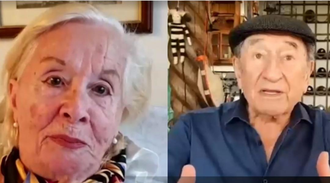 Delfina Guzman y Luis Alarcón REAPARECEN en TV para APOYAR campaña «Vamos Chilenos»