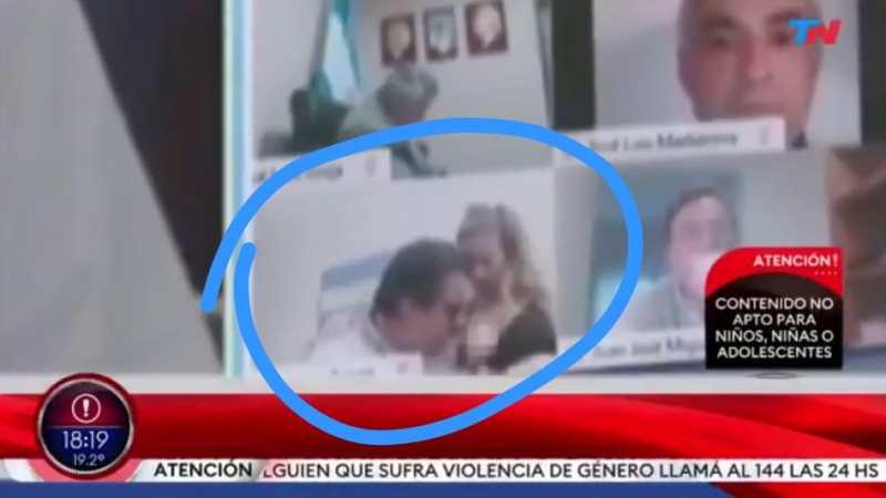 ESCÁNDALO en Argentina, diputado protagoniza ESCENA SEXUAL durante sesión