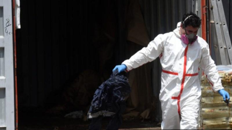 Encuentran SIETE CADÁVERES en un contenedor proveniente desde SERBIA en Paraguay