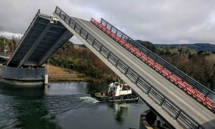 Gobierno DESEMBOLSA más de 15 MIL MILLONES de pesos para el arreglo DEFINITIVO del puente Cau Cau