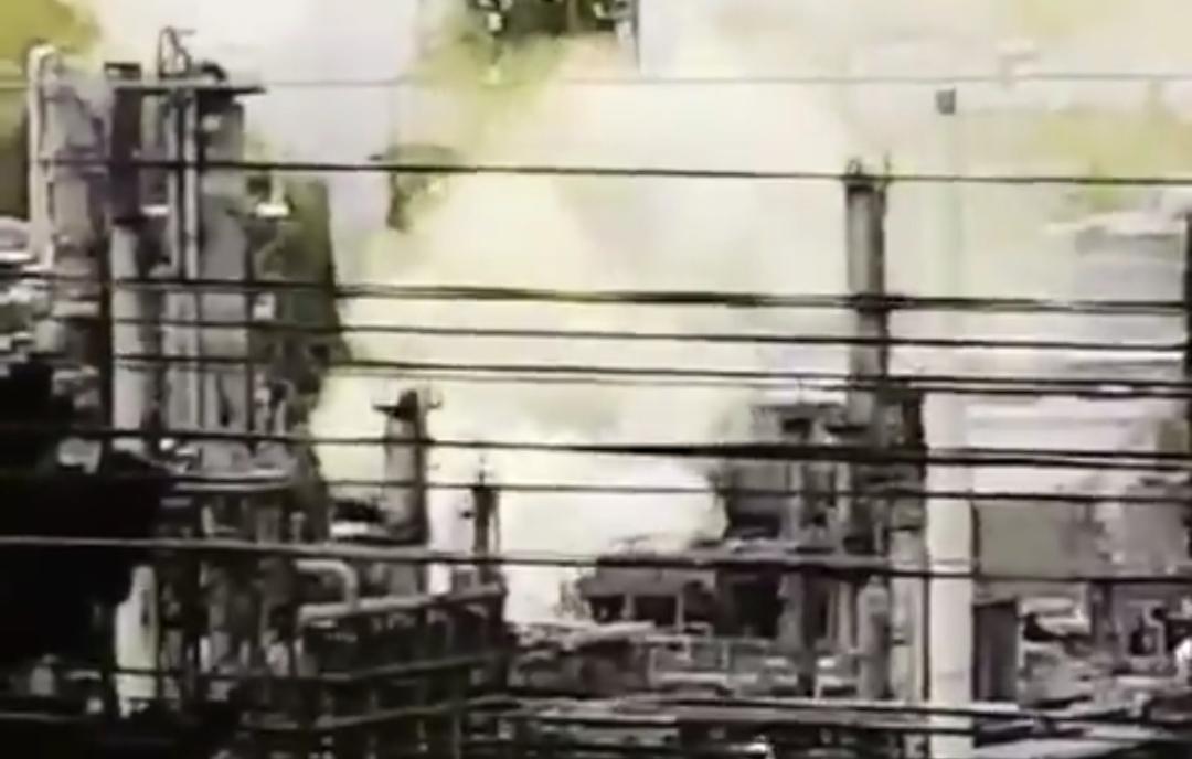 Reportan FUERTE EXPLOSIÓN en refineria ENAP de CONCÓN